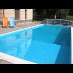 Balatonszemesen a strandtól 100 méterre  medencés luxusapartman kiadó max. 4+2 fő részére E.6. jelű apartman