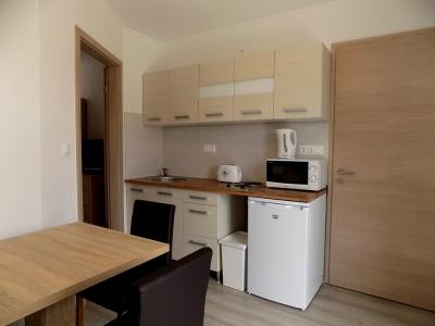 Balatonlellén a Balatontól 150 méterre új építésű apartmanházban tetőtéri apartman kiadó max 2 fő részére E.8. jelű apartman