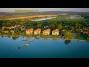 Balatonőszödi Hullám Üdülőparkban modern szállás kiadó vízparti apartmanban