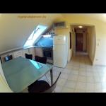 34, Közvetlen vízparti 3 hálószobás tetőtéri apartman a Hullám Üdülőparkban 7 főnek